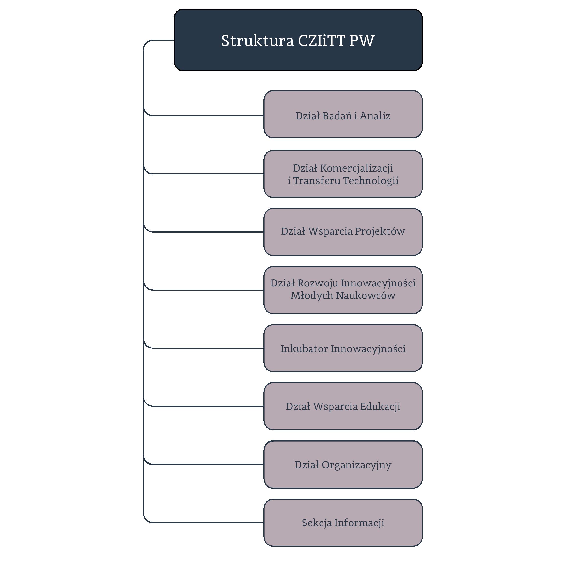 struktura CZIiTT PW grafika