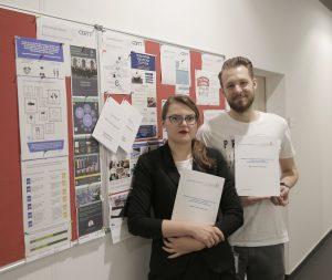 Realizatorzy badania. Dr Aleksandra Wycisk i Mateusz Kałamarz